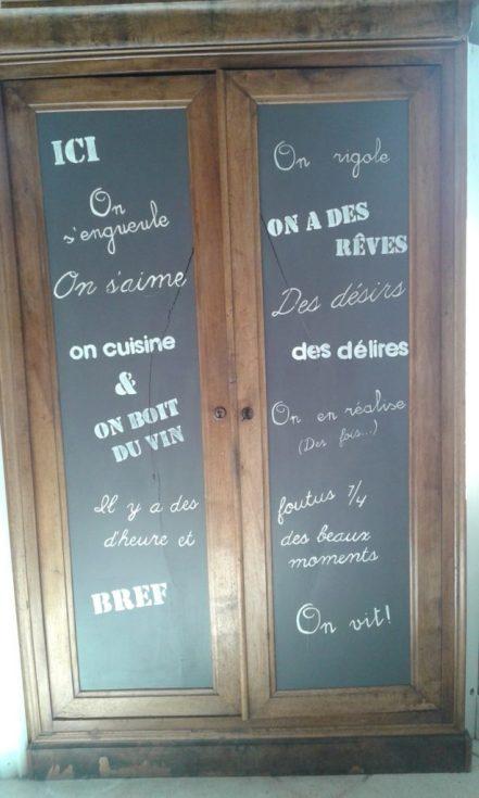 recupfactory pau décoration vintage bois palette messages pochoirs décoration effet vintage