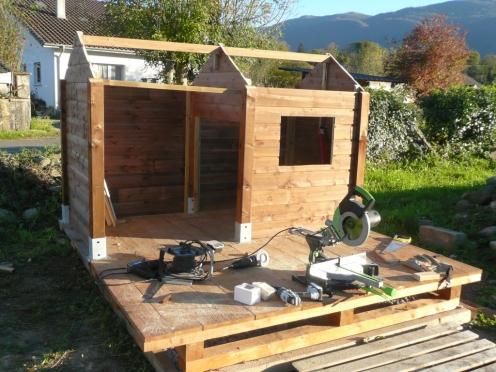 recupfactory pau décoration vintage bois palette tuto cabane enfant sur mesure