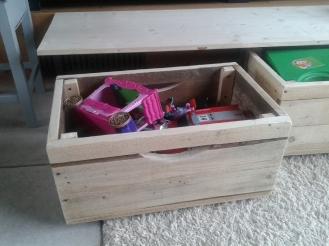 caisse banquette bois palette sur mesure recup et factory detail