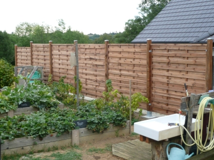 recupfactory pau décoration vintage bois palette panneaux bois pour clôture naturelle diy