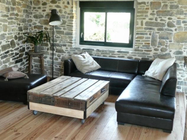 recupfactory pau décoration vintage bois palette grande palette de récupération style industriel grilles en fonte