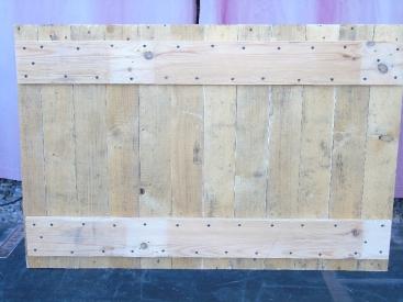 table tuto pied de machine à coudre vintage factory plateau bois palette
