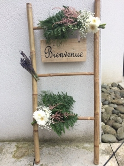bois palette decoration signaletique bienvenue customisation personnalisation location vintage creation recup