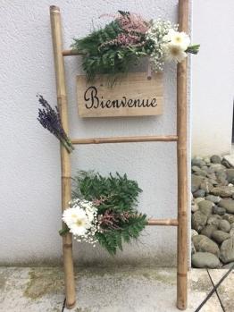 bois palette decoration signaletique bienvenue customisation personnalisation location vintage creation recup
