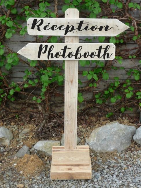 bois palette decoration signaletique customisation personnalisation location vintage creation recup