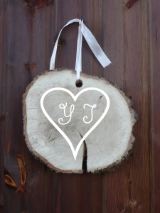 decoration signaletique rondin bois customisation personnalisation location vintage creation recup