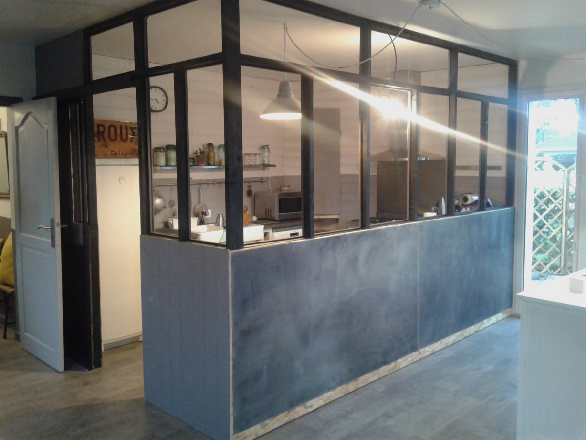 verriere cuisine bois indus retro deco zinc 19 – Décoration