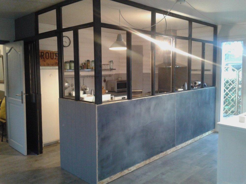 verriere cuisine bois indus retro deco zinc 6
