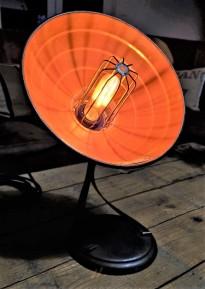 lampe chauffante relookee luminaire eclairee retro deco vintage thermor
