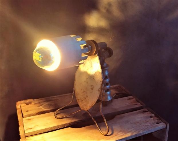 lampe verrier vintage industriel recup deco retro creation