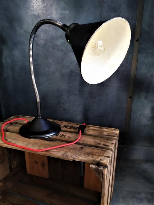 lampe bureau vintage deco retro restauree